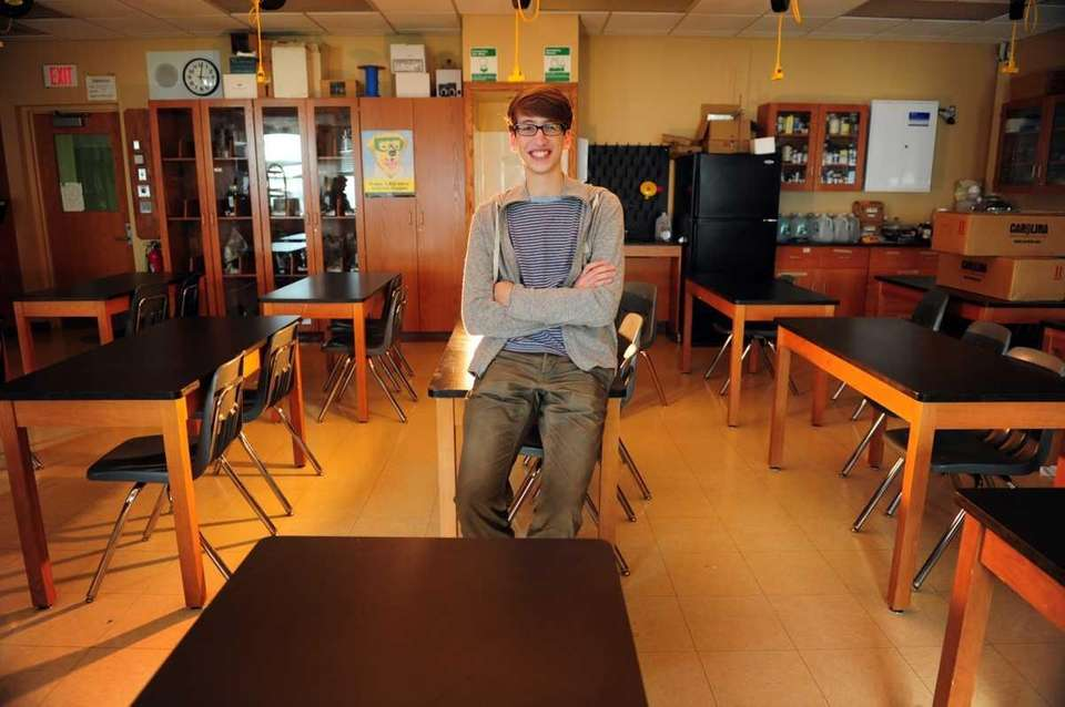 Siemens Competition of Science finalist, Blake Smith of