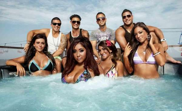 "MTV's ""Jersey Shore"" Season 3 cast poses in"