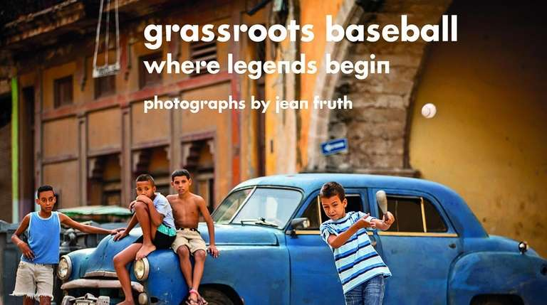 "The cover of Jean Fruth's book ""Grassroots Baseball,"