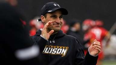 Towson associate head coach Anthony Gilardi was named
