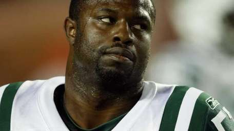2009 file photo of Bart Scott. Scott has