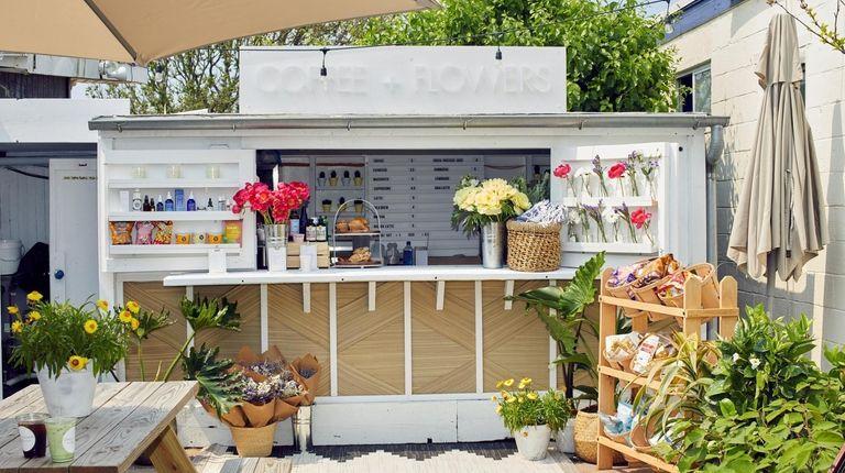 Coffee + Flowers has a seasonal shop in