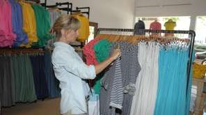 Jessica Nadel of St. James shops at Fresh