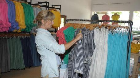 Jessica Nadel of St. James shops at Fresh