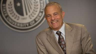 Stony Brook University Provost Michael Bernstein was named
