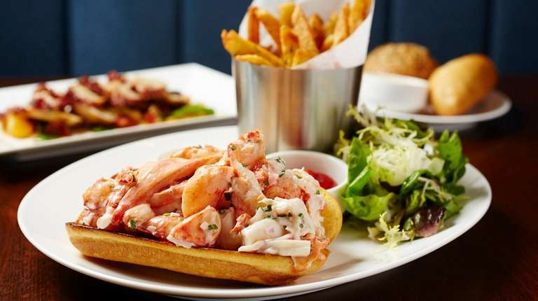 The LakeHouse lobster roll.