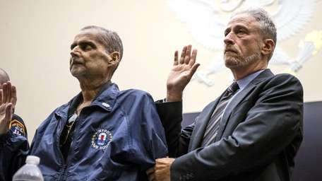 Retired NYPD Det. Luis Alvarez, a 9/11 responder,