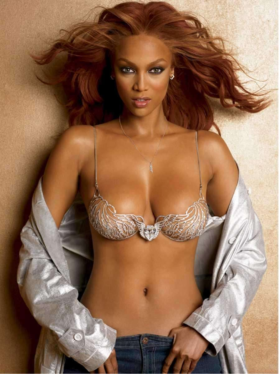 Tyra Banks got her start as a model