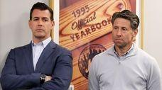 Mets general manager Brodie Van Wagenen and Mets