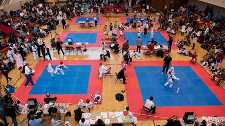 The New York Taekwondo Championships, started by Grandmaster