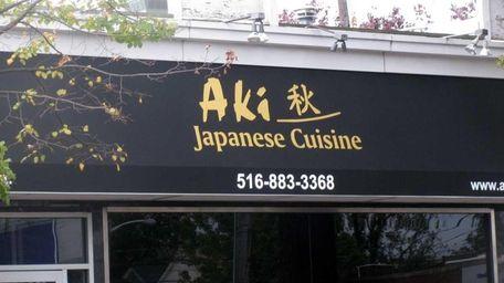 Aki Sushi has replaced Shang Hai Pavilion in
