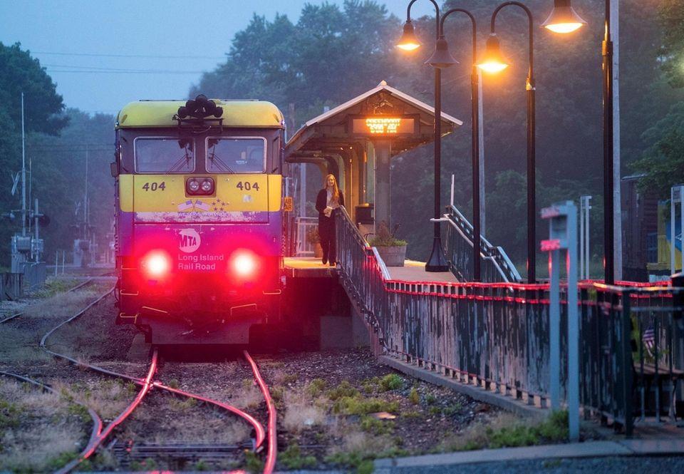 The Long Island Rail Road reaches it's final