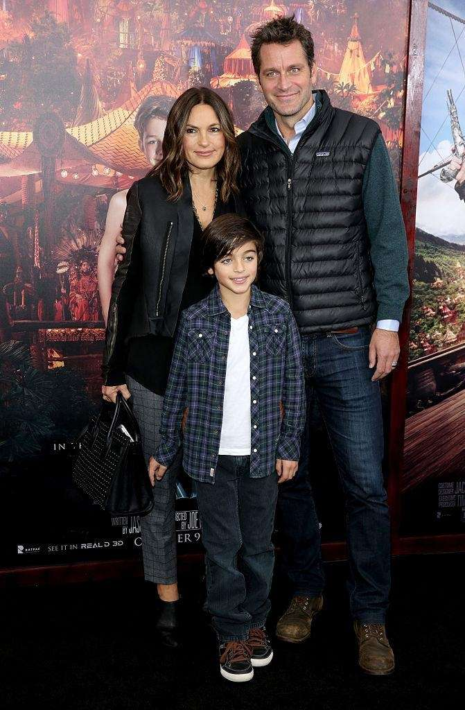 Parents: Mariska Hargitay and Peter Hermann Children: Andrew