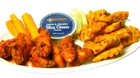 Atomic Wings, a fast-casual restaurant specializing in Buffalo