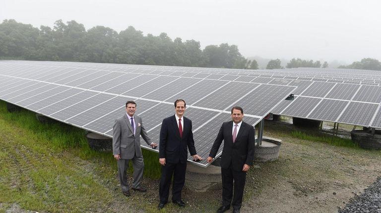 Solar Farm In Kings Park To Power 1 000 Homes Newsday
