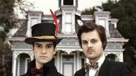 Pictured from left: Recording artists Brendon Urie and