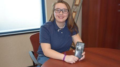 Brooke Yellin, a junior at Long Beach High