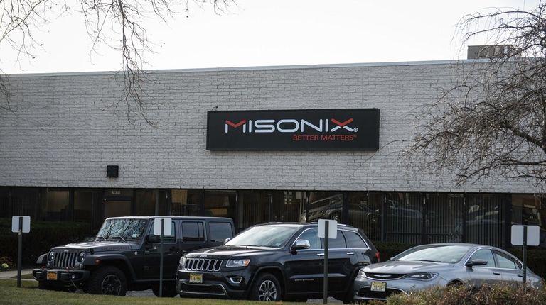 Misonix headquarters in Farmingdale, seen on Dec. 19,