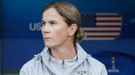 United States coach Jill Ellis stands by the