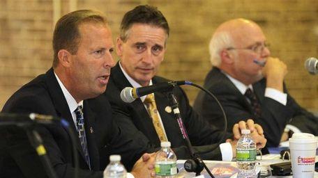 A meeting of the Long Island Economic Development