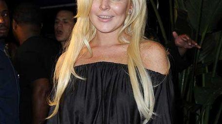 amNY -- Lindsay Lohan