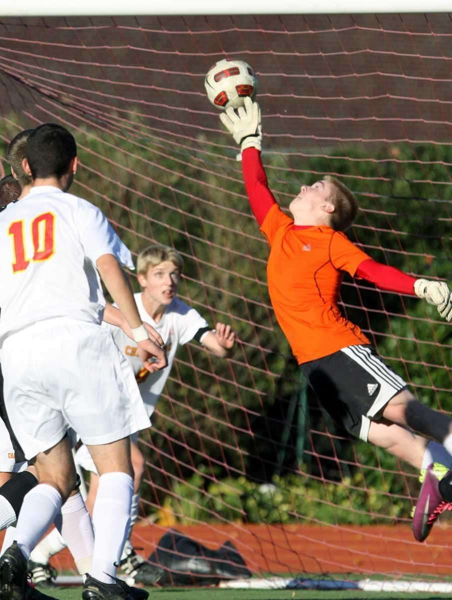 Header by St. Anthony's Fabrizio Petrallia gets by