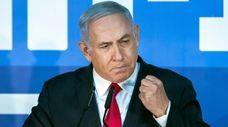 Israeli Prime Minister Benjamin Netanyahu on Feb.