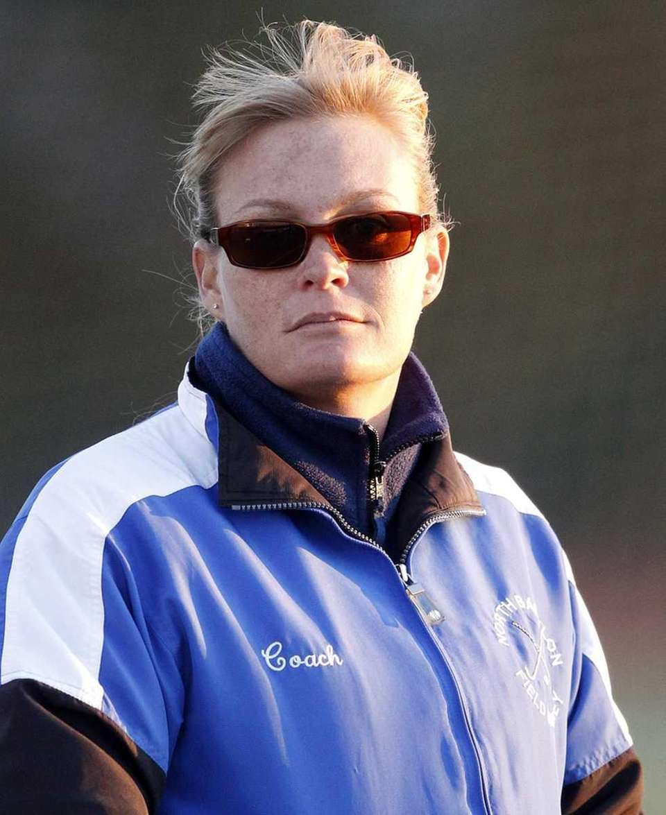 North Babylon girls field hockey head coach Caryn