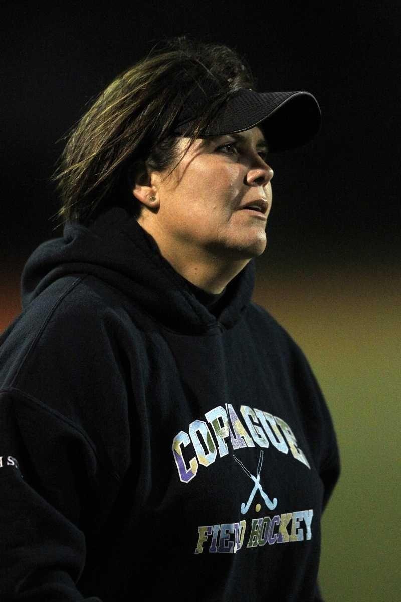 Copiague girls field hockey head coach Patti Stein.