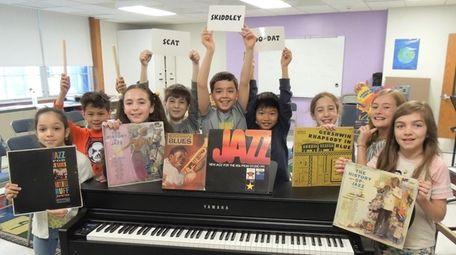 Students at Lloyd Harbor School recently celebrated Jazz