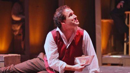 Evan Teich plays John Wilkes Booth in
