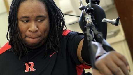 In this file photo, former Rutgers football player
