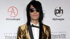 """Criss Angel at the grand opening of """"Criss"""