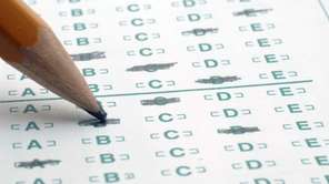A file photo of standardized testing.