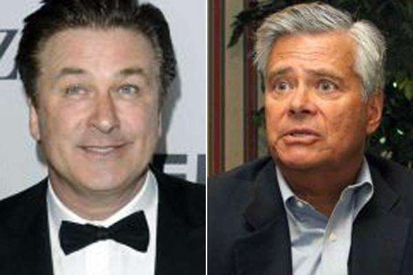File photos of Alec Baldwin (left) and Dean