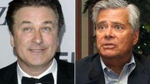 File photos of Alec Baldwin (left) and Dean
