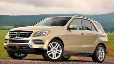 The 2012 Mercedes-Benz ML350 starts at $49,865 for