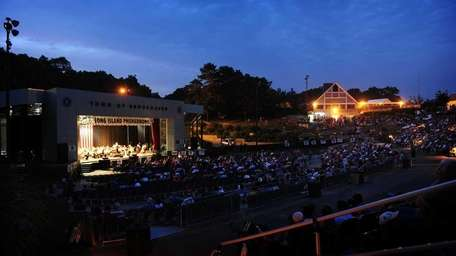 The Long Island Philharmonic performs at the Brookhaven
