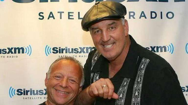 Gerry Cooney, right, and Randy Gordon, co-hosts of