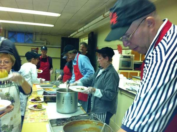 patchogue church hosts weekly soup kitchen newsday
