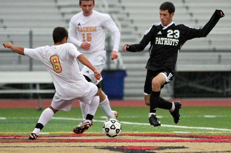 Ward Melville D Alex Wolfe #23 and Sachem
