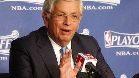 David Stern in a 2010 file photo. (Apr.
