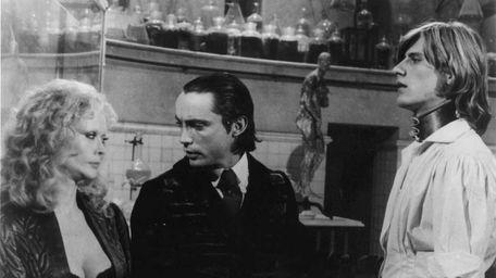 Baron Victor Von Frankenstein (Udo Kier) admonishes his