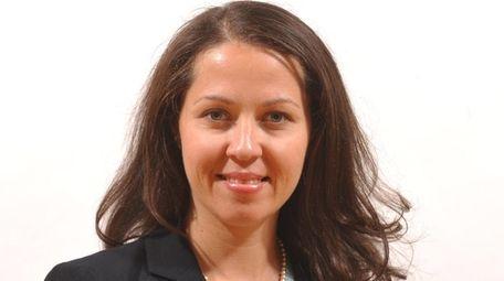 Kristina Heuser resigned her post as Glen Cove