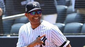 New York Yankees former closing pitching ace Marino