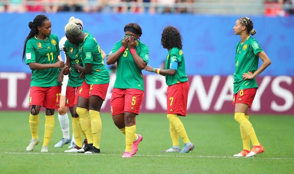 Mandatory Credit: Photo by TOLGA BOZOGLU/EPA-EFE/Shutterstock (10319824z) Cameroon's