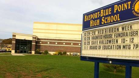 Bayport-Blue Point High School is one of five