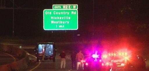 Two people were killed in a fiery vehicle