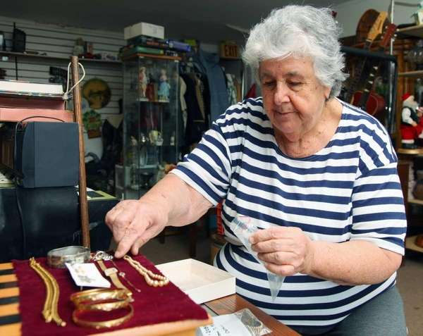 Fran Lesser of Medford runs Lion's Furniture and