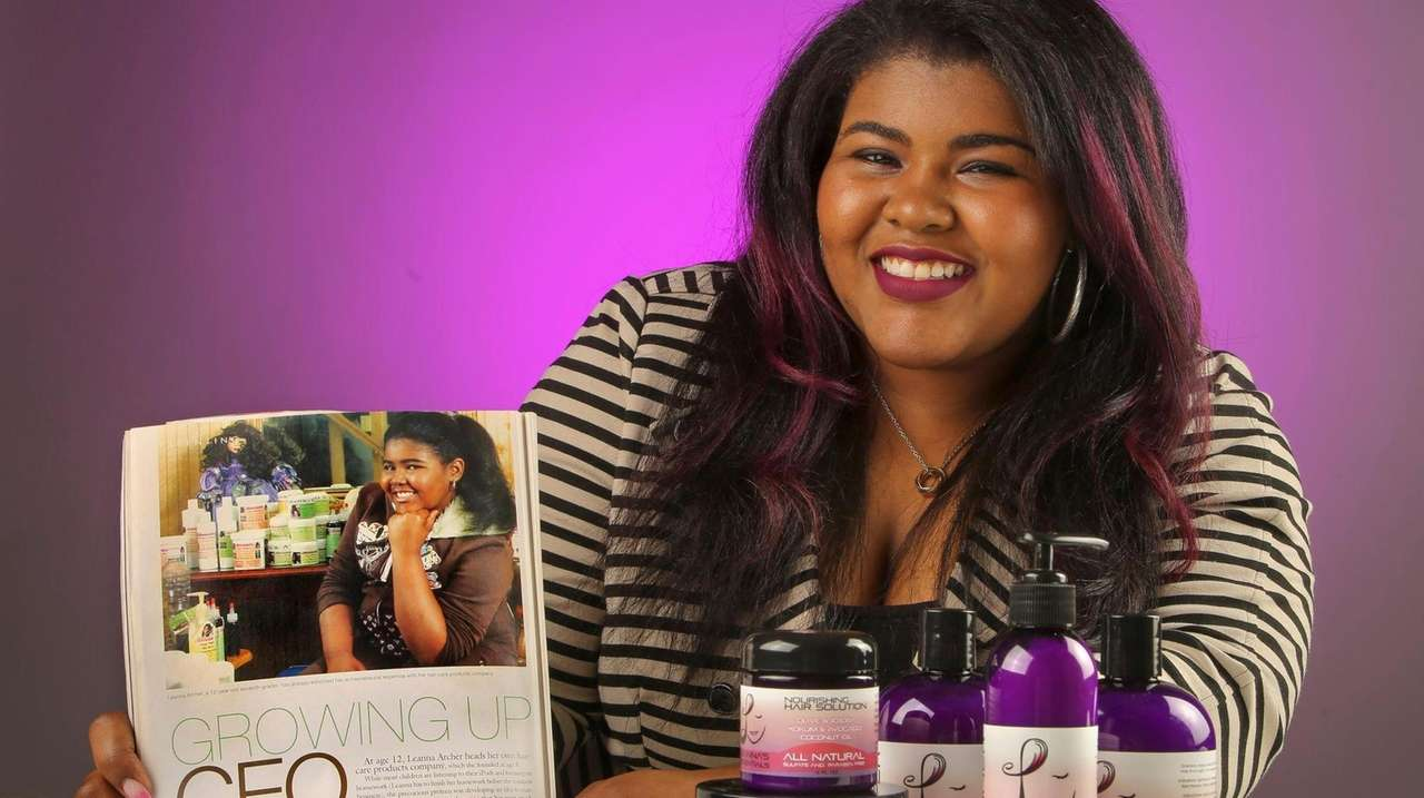 Leanna Archer of Central Islip started her company